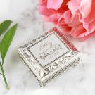 Personalised Engraved 21st Milestone Birthday Jewellery Box Present