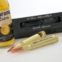 Personalised Engraved Valentine's Day Bullet Bottle Opener Present