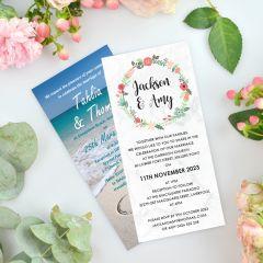 Full Colour Printed Invitation Magnets