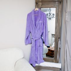 Personalised Embroidered Mother's Day Microfibre Bathrobe Gift