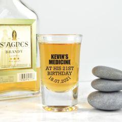 Printed Birthday Shot Glass