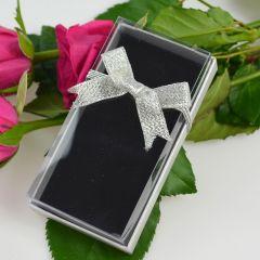Presentation Gift Box with Silver Ribbon