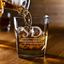 Personalised Engraved Bare ware Housewarming, Birthday & Farewell Scotch Glass Present