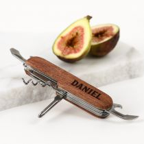 Personalised Engraved Wooden Multi Tool Father's Day Present