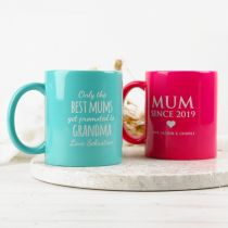 Customised Engraved Mother's Day Coffee Mug Gift- Happy First Mother Day