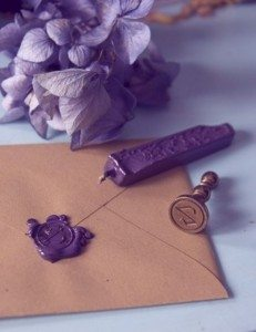 envelopes sealed with wax
